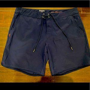 "Men's Rhone 7"" Board Short Swimsuit 35 Navy"